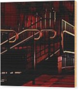 Railings Wood Print