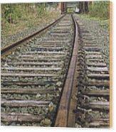 Railroad Bridge Wood Print