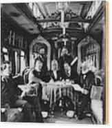 Railroad Directors, C1868 Wood Print