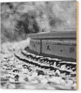 Railroad Heat Wood Print