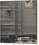Railroad Nostalgia Wood Print