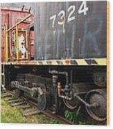 Railroad Retirement Wood Print