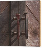 Railroad Spike Handles Wood Print