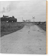 Railroad Workers, C1903 Wood Print
