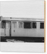 Railway Car, 1913 Wood Print