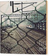 Railway Station Wood Print