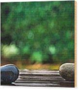 Rain Again Wood Print