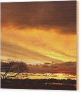 Storm At Dusk 2am-108330 Wood Print