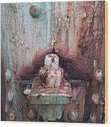 Rain Sirens Wood Print