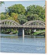 Rainbow Arch Bridge Wood Print
