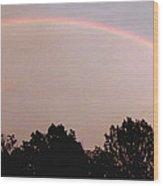 Rainbow Arch Display Wood Print