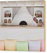 Rainbow Chef Wood Print