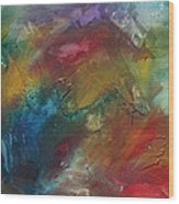 Rainbow Dreams By Madart Wood Print