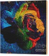 Rainbow Ecstasy Wood Print