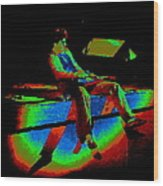 Rainbow Full Of Sound 1977 Wood Print