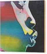 Rainbow Kiss Wood Print
