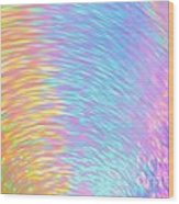 Rainbow Of Colors At Speed Wood Print