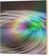 Rainbow Plunge Wood Print