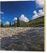 Willow Creek Wood Print