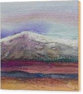 Rainbow Sky In Alaska Wood Print by Anais DelaVega