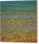 Rainbow Tahoe Wood Print