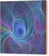 Rainbow Whirlpool Wood Print