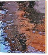 Raindrops 29412 Wood Print