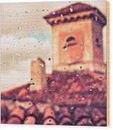 Rainy Day In Italy Wood Print