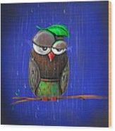 Rainy Days Wood Print