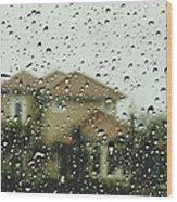 Rainy Tropics Wood Print
