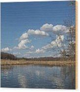 Raisen River Wood Print by Jennifer  King