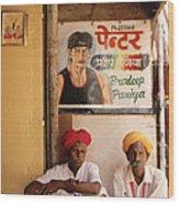 Life Of Rajasthan Wood Print