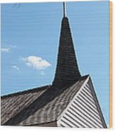 Raleigh Chapel Wood Print