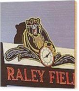Raley Field Wood Print