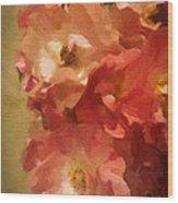 Ramblin Rose Memories Wood Print