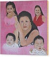 Rameriz Portraits Wood Print