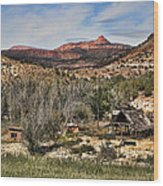 Ranch Wood Print