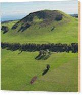 Ranch Land, Kohala Mountain Road, Route Wood Print