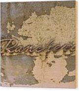 Ranchero  Wood Print
