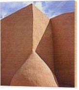 Rancho De Taos Iv Wood Print