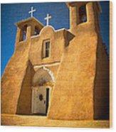 Ranchos Church Xxx Wood Print