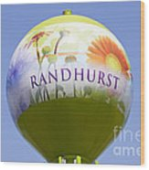 Randhurst Water Tower Wood Print