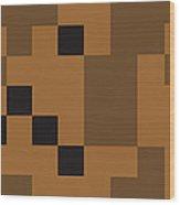 Random Digital Art Sahara 4 Wood Print