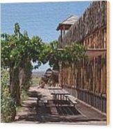 Randon View In Utah 1 Wood Print