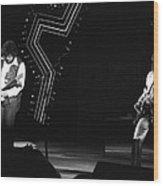 Randy And Blair 1976 Wood Print