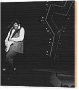 Randy Takin Care Of Business 1976 Wood Print