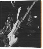 Randy Hansen Live On The 3rd Stone From The Sun 1978 Wood Print