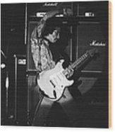 Randy Hansen Playing For Jimi 1978 Wood Print