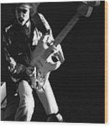 Randy Hansen Rocking In 1978 Wood Print