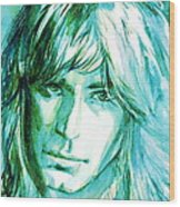 Randy Rhoads Portrait Wood Print